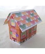 Recipe File Gingerbread House w/Recipes & Cookie Cutters - $16.00