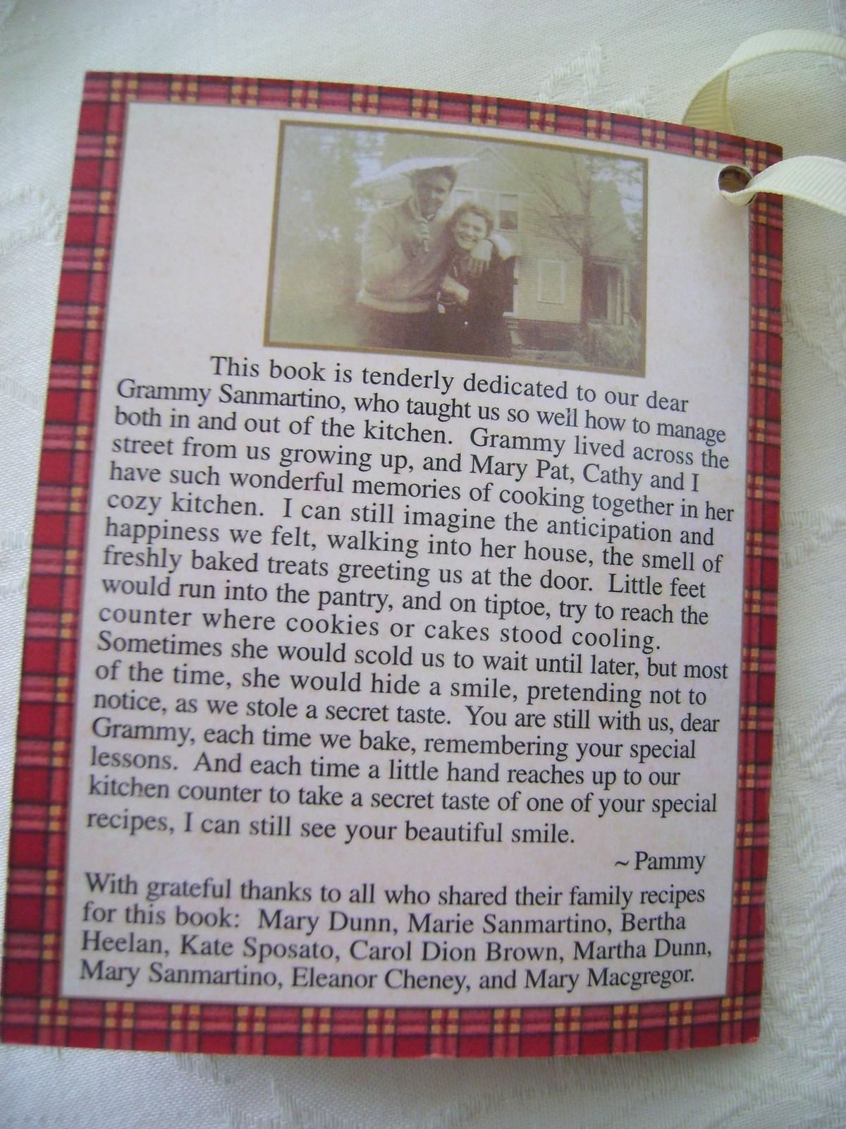 Recipe File Gingerbread House w/Recipes & Cookie Cutters