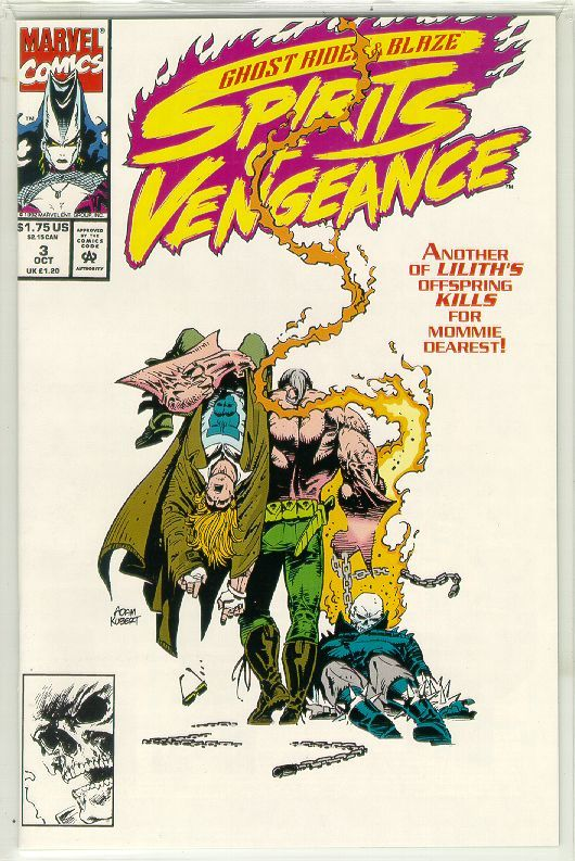 SPIRITS of VENGEANCE #3 (Ghost Rider & Blaze) NM!