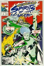 SPIRITS of VENGEANCE #4 (Ghost Rider & Blaze) NM! - $1.50