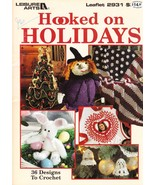 Leisure arts leaflet  2931 hooked on holidays   front cover thumbtall