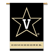 Vanderbilt Commodores 28 X 40 Premium 2-Sided Banner With Pole Sleeve  - $37.95