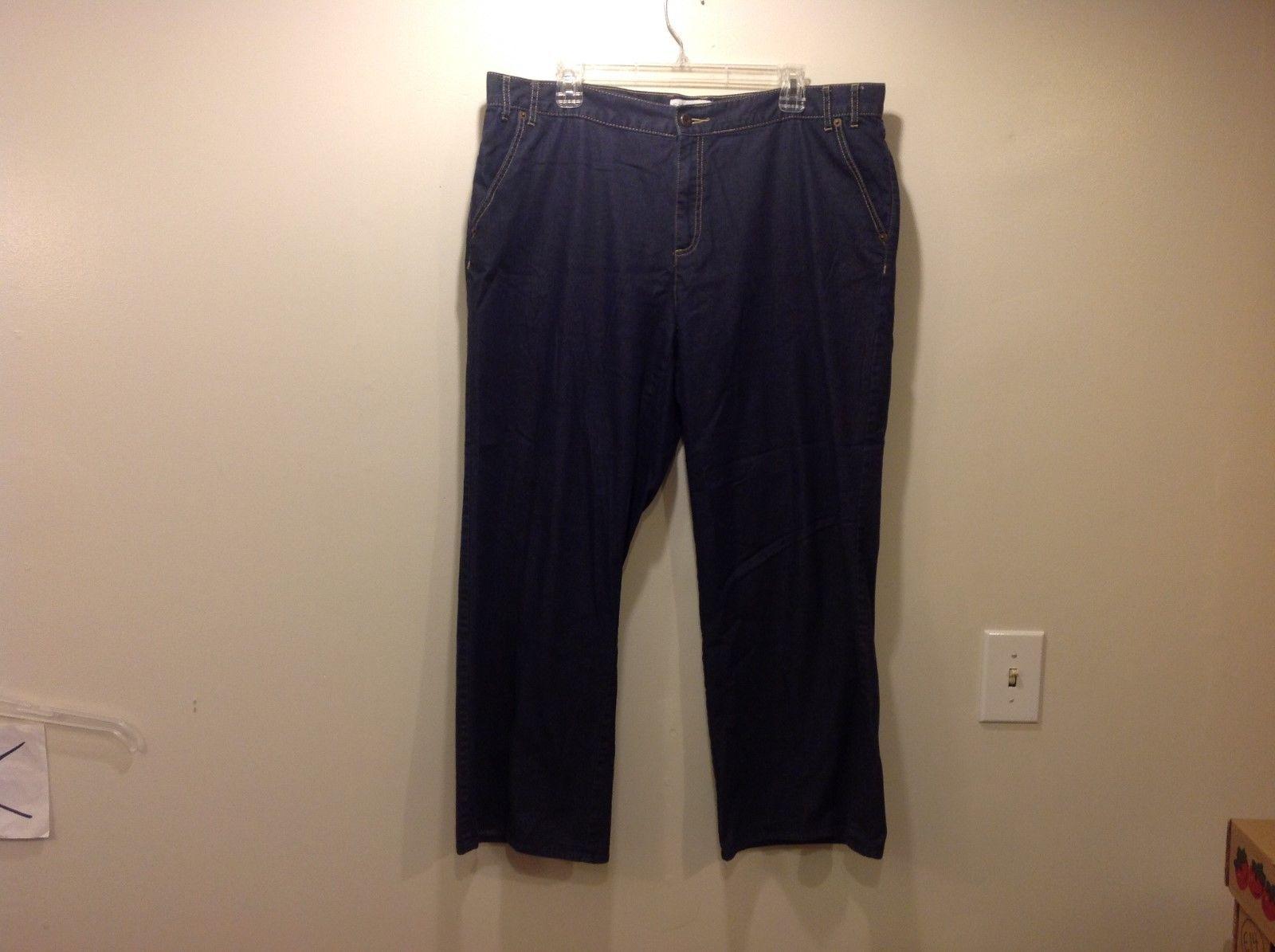 Sag Harbor Dark Jeans Sz 18W