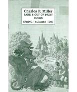 Charles Miller Out Of Print Books Catalog Spring 1997 Maurice Sendak Cover - $4.95