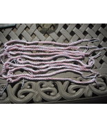 27 Mix Pink /White Crochet Friendship Bracelets. - $14.00