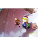2003 Viacom INTL Inc. animation Christmas Girl packages ornament 2 bead ... - $3.00