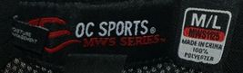 OC SPORTS PFX-120 PROFLEX STRETCH FIT MESH BASEBALL CAP - BLACK image 8