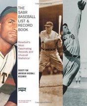 The SABR Baseball List & Record Book: Baseball's Most Fascinating Records and Un image 1