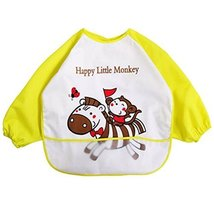 Baby Boy Girls Painting/Eating Waterproof Bibs Children's Aprons/Smock-A487 - $14.77