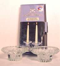 Country Elements 2 Piece Candleholder Set - $2.00