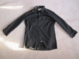 Men's Dickies Button Front Shirt Black Size: L - €18,24 EUR