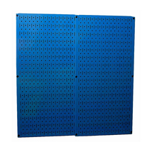 Wall Control Blue Metal Pegboard Pack - Two Pegboard Tool Boards - $68.60