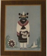 Indian Kachina Maiden Print Arizona Bank Bruce Timeche - $20.00