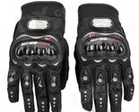 PRO-BIKER MCS-01C Motorcycle Racing Full-Finger Warm Gloves - Black (Size L / Pa