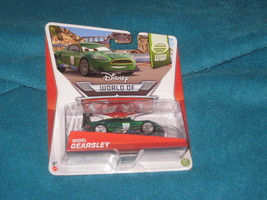 DISNEY PIXAR CARS NIGEL GEARSLEY. BRAND NEW ON CARD.World Grand Prix. - $6.92