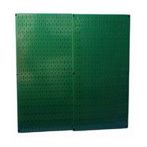 Wall Control Green Metal Pegboard Pack - Two Pegboard Tool Boards - $68.60