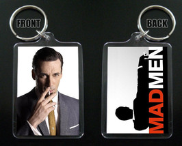 Mad Men Keychain / Keyring  Don Draper Jon Hamm - $7.91