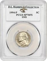1994-P 5c PCGS MS70 FS (Special Mint Set) ex: D.L. Hansen - Special Stri... - $679.00