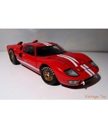 ~ Ford GT 40 MkII - Shelby Legends 1:18 - 1966 LeMans Test Race Car  in Box - $59.00