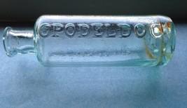"""Fantastic 1830s-1850s """"LIQUID OPODELDOC"""" Open P... - $40.00"""