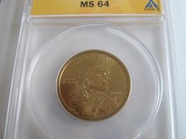 2000-P , Sacagawea Dollar , ANACS , MS 64 - $22.00
