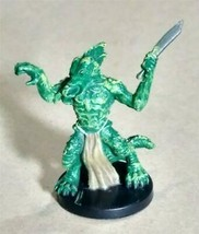 Dungeons & Dragons Miniatures Half-Illithid Lizardfolk #34 D&D Mini Wizards! - $3.99