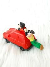 "Burger King Figure Goofy & Max Adventure pull back car (red) 3.5""  (1995) - $3.20"