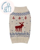 Let It Snow Sweater - Matching Sizes Dogs + Humans - $94.95+