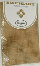Zweigart 7 Count Klostern Sand 18 x 18 Cross Stitch Fabric 60 Rayon 40 Cotton - $24.99