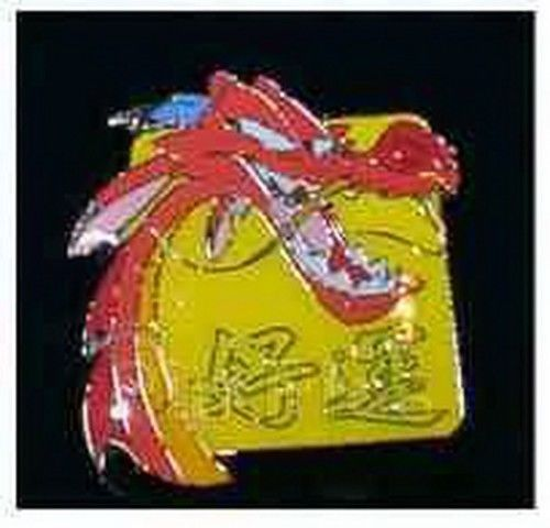 Mushu Lucky red dragon from Disney Mulan German Pro pin