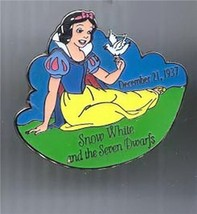 Snow White & 7 Dwarfs dated 1937 Authentic Disney  Pin - $14.99