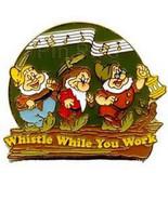 Snow White & 7 Dwarfs Whistle While You Work Authentic Disney No Backer ... - $29.99
