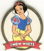 Princess Snow White & 7 Dwarfs retired Authentic Disney No Backer Card  Pin - $24.99
