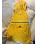 Med. Dog Rain Coat Yellow - $18.75