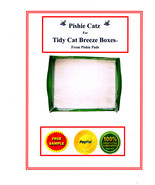 40 TIDY CAT REFILL GENERIC PADS FOR BREEZE LITTER SYSTEM® FREE SAMPLES - $34.99