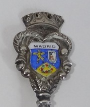 Collector spoon spain madrid coat of arms souvenir  1  thumb200