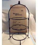 "Better Homes And Garden Collection Home Interriors 3 Tier 24""  Metal Pla... - $35.00"