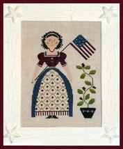 My Lady Liberty cross stitch chart Little House... - $7.20