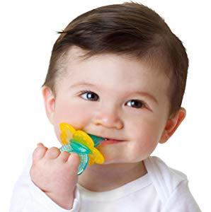 Primary image for Nuby Chewbies Silicone Teether, Colors May Vary