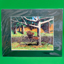 "Signed 11X14 Color Print, Local Artist Vana Arnold, ""Going Nowhere Fast"" - $7.95"