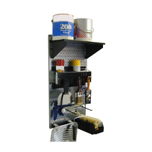 Paint Supplies Organizer Kit - Galvanized Toolboard And Black Accessories - $113.89 CAD
