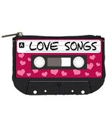 80s Love Songs Cassette Tape Womens Coin Bag Purse - $4.72