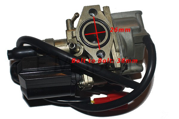 50cc Moped Scooter Carburetor Carb Parts For Honda Elite SA 50 SA50 1992-1996 image 3
