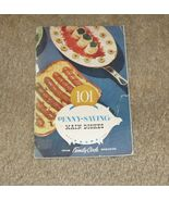 Vtg Cooking Booklet-101 Penny Saving Main Dishes-from Family Circle-Circ... - $12.99