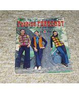 Vtg 1970 Coats & Clark's Fashion Forcast #199-Knit & Crochet-Clothing/Ac... - $12.99
