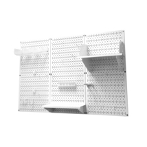 4ft Standard Tool Storage Kit - White Toolboard & White Accessories - $169.59