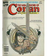 Savage Sword of Conan the Barbarian 207 Marvel Comic Book Magazine March 1993 - $1.99