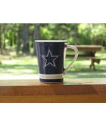 Ceramic Shot Glass Mini Cup Dallas Cowboys Foot... - $3.00