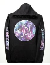 SOS 5 Seconds of Summer Multicolor Design hoodie  hooded sweatshirt - $29.99+