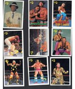Wrestling Trading Card - (Lot of  9 Titan Sports cards -1990) - $4.95